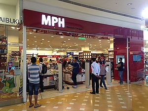 MPH Group - An MPH book store at Alamanda Putrajaya
