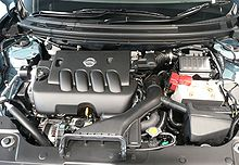 Nissan MR-motoro - Wikipedia's Nissan MR engine as ...