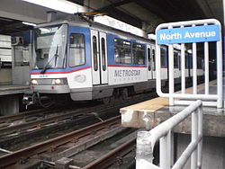 MRT-3 Train North Avenue 3.jpg