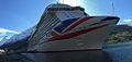 MV Britannia P & O Cruises Olden Nordfjord Stryn Sogn og Fjordane Panorama04 2014-04-28.JPG