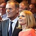 Małgorzata Tusk z mężem.jpg
