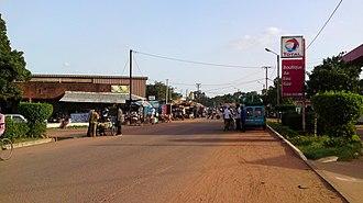 Banfora - Street in Banfora