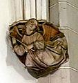 Maastricht, Sint-Servaasbasiliek, Dagkapel, gotische console 02.jpg