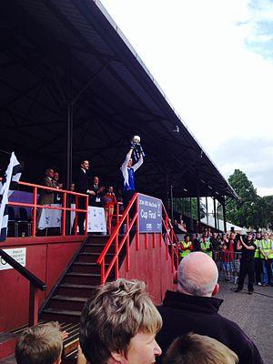 MacTavish Cup - The MacTavish Cup, lifted by Lovat in 2014
