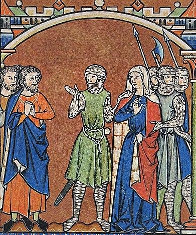 Maciejowski Bible Leaf 37 3