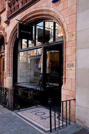 Mackintosh - Mackintosh Store, 104 Mount St, Mayfair, London.