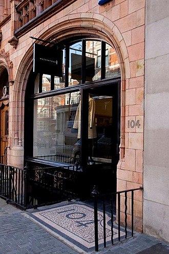 Mackintosh - Mackintosh Store, 104 Mount St, Mayfair, London.