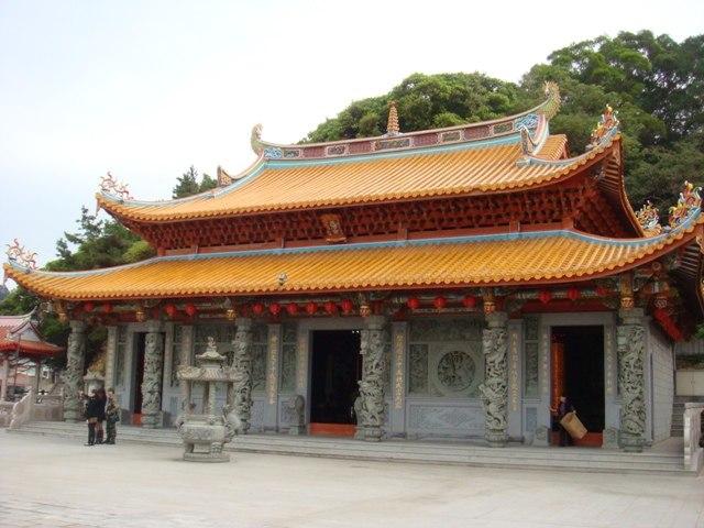 Magang Mazu Temple, Nangan, Matsu, Taiwan