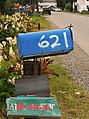 Mailbox and newspaper box along 22nd Avenue, Fairbanks, Alaska.jpg