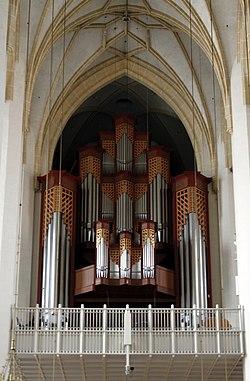 Main pipe organ - Frauenkirche - Munich - Germany 2017.jpg