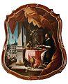 Maison Seilhan, à Toulouse - Saint Dominique maîtrise le démon à Saint-Sixte.jpg