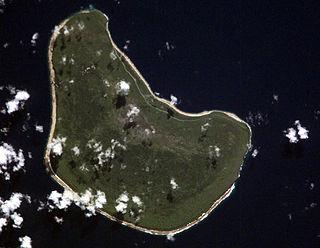 Makatea island in French Polynesia