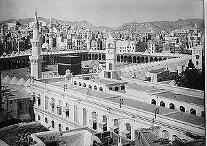 Great Mosque of Mecca - Mecca in 1910