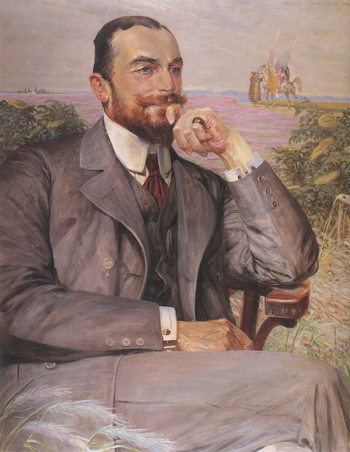 Файл:Malczewski-Portret Ludwika Żeleńskiego.jpg – Уикипедия