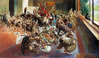 Art in Poland - Melancholy (1894), by Jacek Malczewski