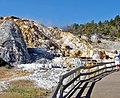 Mammoth Hot Springs, Yellowstone 9-11 (15086219416).jpg