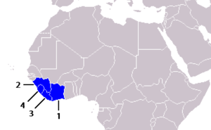Mano River Union - Member states
