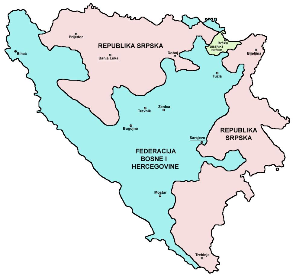 Map Bih entities lat