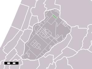 Boesingheliede - Image: Map NL Haarlemmermeer Boesingheliede