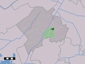 Dwingeloo - Image: Map NL Westerveld Dwingelo