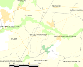 Map commune FR insee code 26052.png