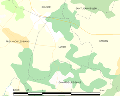 Map commune FR insee code 40159.png