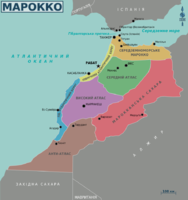 Map of Morocco regions (uk).png
