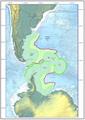 Mapa Argentino según presentación CLPC-ONU - 2009 (Antes y después CONVEMAR).png