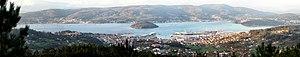 Marín, Pontevedra - Panoramic view of Marín