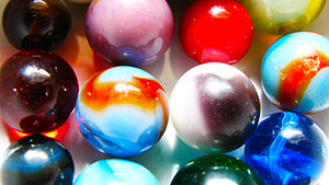 Picture of marbles from my collection
