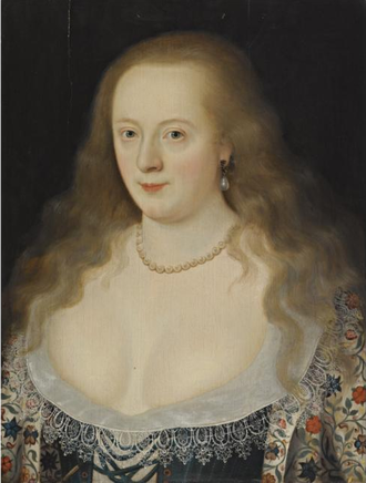 Frances Howard, Duchess of Richmond - Frances Howard as Countess of Hertford, by Marcus Gheeraerts the Younger.