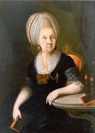 Säckingen Abbey - Maria Anna Franziska von Hornstein-Göffingen, last Princess-Abbess of Säckingen