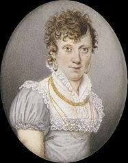Maria Elisabeth Schreiber (1765-1822). Echtgenote van Georg Albrecht Diederichs
