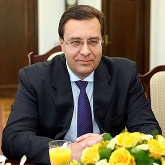 Moldovan parliamentary election, 2014 - Image: Marian Lupu Senate of Poland