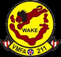 Marine Fighter Attack Squadron 211 insignia 2016