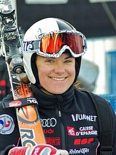 Marion Rolland French alpine skier