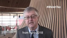 Mark Drakeford, Cabinet Secretary for Finance discussing the forthcoming Welsh Taxes; 2017