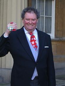 Mark Stephens after receiving his CBE in January 2012