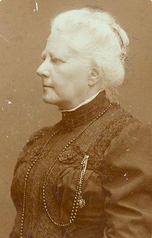 Agneta Matthes - Agneta Matthes in 1900