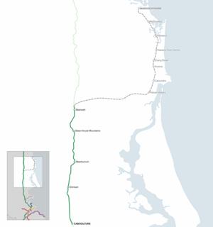 Maroochydore railway line