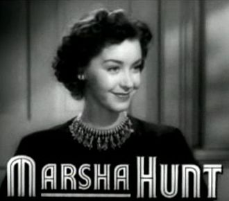 Marsha Hunt (actress, born 1917) - In the trailer for Cry 'Havoc' (1943)