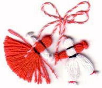 Baba Marta Day - Typical martenitsa