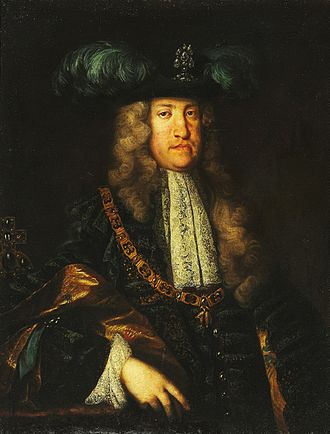 Charles VI, Holy Roman Emperor - Charles wearing the Order of the Golden Fleece, by Martin van Meytens