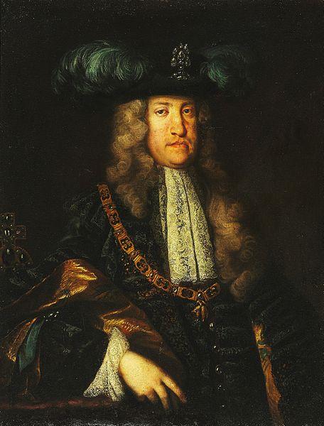 Carlos VI atribuido a Martin van Meytens