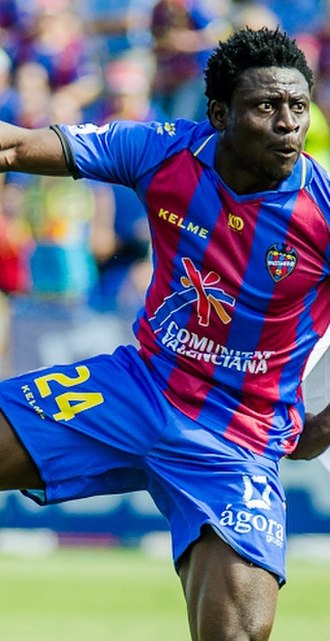 Obafemi Martins - Martins playing for Levante in 2012