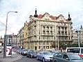Masarykovo nábřeží, Jiráskovo náměstí 1 a 2.jpg