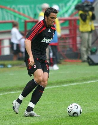 Massimo Oddo - Oddo playing for Milan in 2007