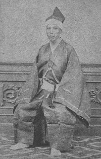 Matsudaira Mochiaki daimyo of the late Edo period; 7th lord of Itoigawa and 17th lord of Fukui