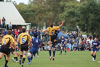 Western Force - Western Force Gold playing Japanese team Yamaha Jubilo in 2006.