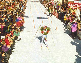 Maurilio De Zolt Italian cross-country skier